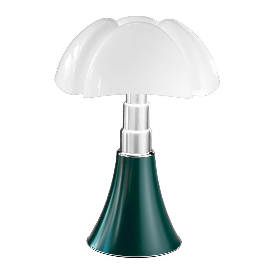 MARTINELLI LUCE lampe de table PIPISTRELLO (Vert - Métal et méthacrylate)
